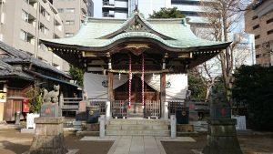 綾瀬稲荷神社 拝殿