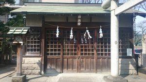国領神社 神輿舎
