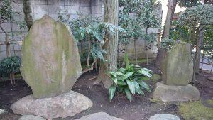 押上高木神社 山玉向島講社の碑