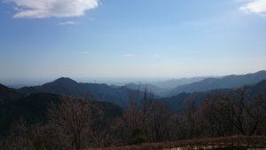 武蔵御嶽神社 城南・川崎方向