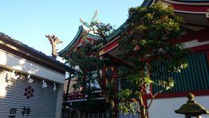 押上高木神社 本殿