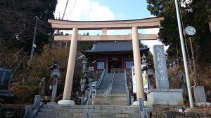 武蔵御嶽神社 大鳥居