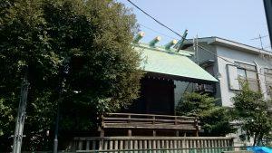 国領神社 本殿