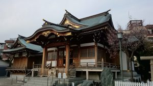 西之宮稲荷神社 拝殿