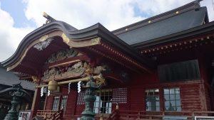武蔵御嶽神社 拝殿