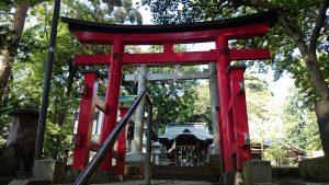 久我山稲荷神社 二の鳥居・三の鳥居