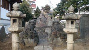 西之宮稲荷神社 五反野富士
