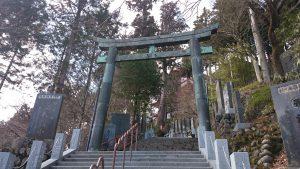 武蔵御嶽神社 青銅鳥居