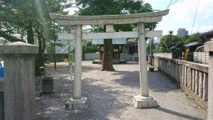 下丸子諏訪神社 (1)