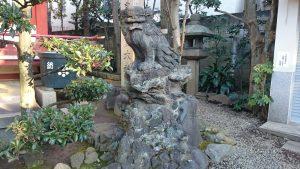 押上高木神社 狛犬 (2)