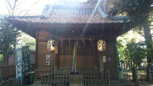 小山八幡神社 甲子神社