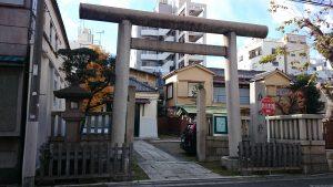 台東区今戸熱田神社 鳥居