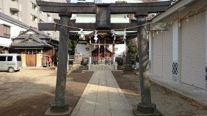 綾瀬稲荷神社 二の鳥居