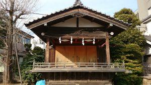 綾瀬稲荷神社 神楽殿