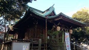 小山八幡神社 拝殿