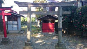 下丸子六所神社 稲荷神社 (3)