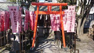 木場洲﨑神社 於六稲荷神社