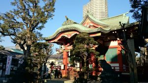 押上高木神社 拝殿