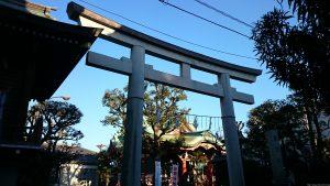 押上高木神社 一の鳥居