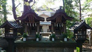 久我山稲荷神社 八雲神社・天満天神社