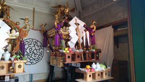 今戸熱田神社 本社神輿