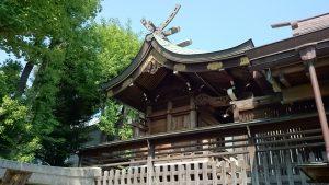 飛木稲荷神社 本殿