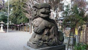 大塚天祖神社 子育て狛犬 (2)