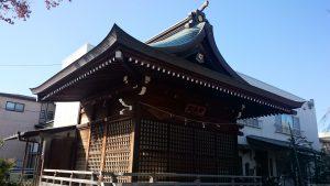三谷八幡神社 神楽殿