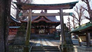 滝野川八幡神社 二の鳥居