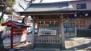滝野川八幡神社 手水舎