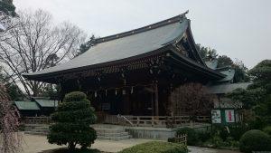 喜多見氷川神社 社殿