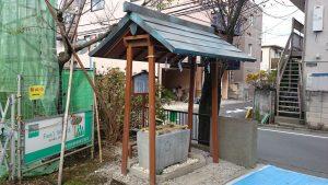 阿佐ヶ谷猿田彦神社 手水舎