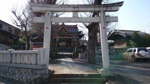 滝野川八幡神社 鳥居