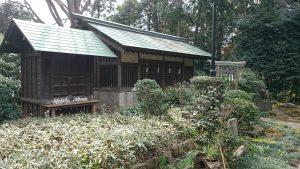 喜多見氷川神社 境内社七つ宮 (1)