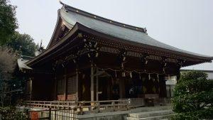 喜多見氷川神社 拝殿