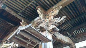 滝野川八幡神社 拝殿彫刻 (2)