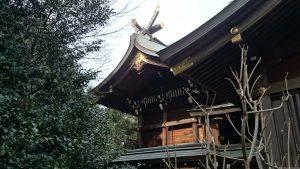 喜多見氷川神社 本殿