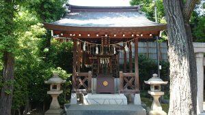 飛木稲荷神社 日枝神社 (1)