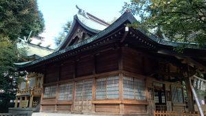 大塚天祖神社 社殿全景
