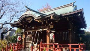 三谷八幡神社 拝殿
