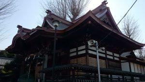 滝野川八幡神社 拝殿