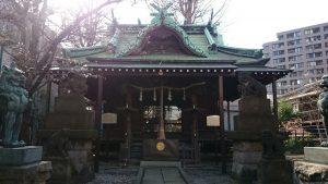 寄木神社 拝殿