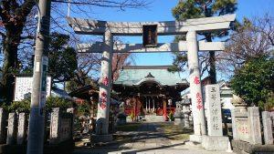 三谷八幡神社 鳥居