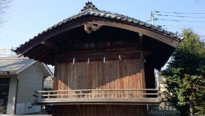 滝野川八幡神社 神楽殿