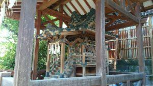 飛木稲荷神社 日枝神社 (2)
