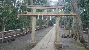 喜多見氷川神社 二の鳥居
