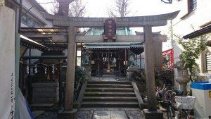 寄木神社 鳥居