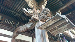 滝野川八幡神社 拝殿彫刻 (3)