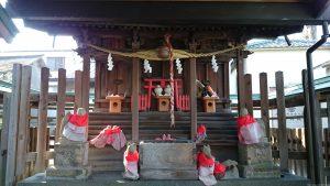 滝野川八幡神社 境内社合祀殿