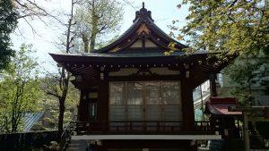多武峯内藤神社 神楽殿